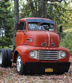 Vintage Pickup Trucks, Old Ford Trucks, Big Rig Trucks, Diesel Trucks, Cool Trucks, 1951 Ford Truck, Ford Lincoln Mercury, Classic Trucks, Classic Cars