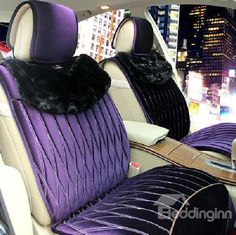 New Arrival Super Soft High Quality Plush Style Fashion Seat Cover