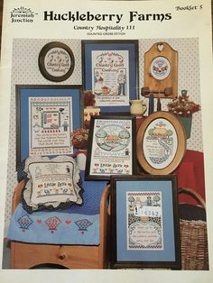 Huckleberry Farms Country Hospitality III Counted Cross Stitch