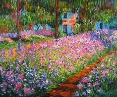 Claude Monet, Iris Garden