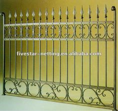 wrought iron fencing $6.5~$25