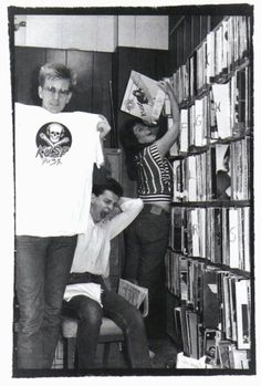 Dave & Andy, '82... looks like someone needs a nap!