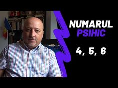 Numarul Psihic   Cifra Psihica 4, 5 si 6   Psiho-numerologie - YouTube Peace, Youtube, Sobriety, Youtubers, Youtube Movies, World