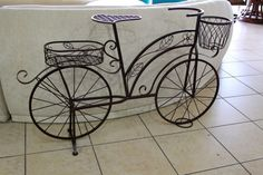 Bicycle Plant Stand - Colleen's Classic Consignment - Las Vegas, NV