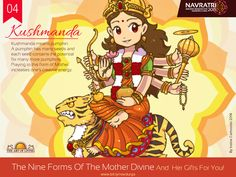 Nine days of Navratri is a celebration of the nine forms of Goddess Durga. Experience the grace of Goddess during Navratri 2019 celebration with Gurudev Sri Sri Ravi Shankar for nine days from The Art of Living International Center, Bangalore. Join us! Navratri Quotes, Navratri Images, Durga Maa, Durga Goddess, Durga Images, Happy Navratri, Navratri Special, Cute Cartoon Characters, Hindu Festivals