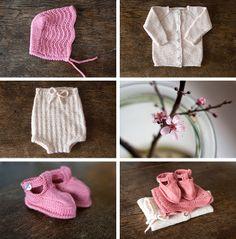 Ullstrikk - The wool knitters blog: GÅVESTRIKK TIL EI LITA JENTE / WOOL GIFTS FOR A BA...