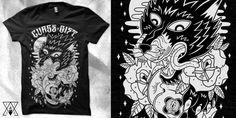 """Lycanthropy "" t-shirt design by firr"