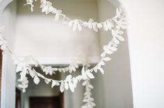 DIY: Felt Foliage Garland - Project Wedding