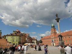ユーラシア旅行社で行くポーランドツアー ワルシャワの旧市街は世界遺産に登録されています