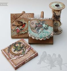 Vintage Inspired: little gift boxes