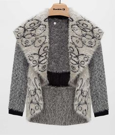 BKE Boutique Eyelash Yarn Cardigan Sweater - Women's Cardigans | Buckle.com