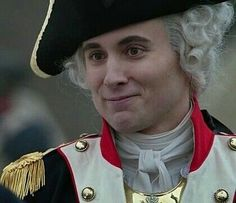 Help me, hes so cute! Marquis de Lafayette, AMC's Turn