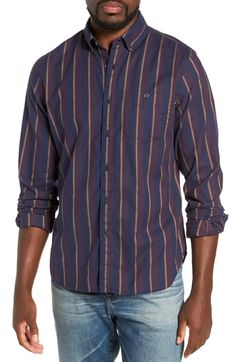 9caa37fc09a TODD SNYDER CLASSIC FIT STRIPE FLANNEL SPORT SHIRT.  toddsnyder  cloth