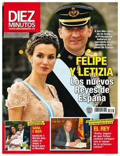 Los nuevos Reyes de España.