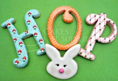 Large Curly Alphabet Cutters by Cakes N Supplies by Ximena - too cute!!!