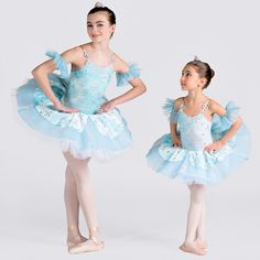 Snowflake ballet costume