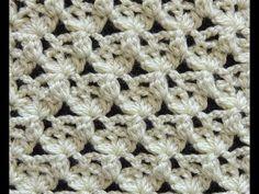 Crochet: Punto Tres Hojas