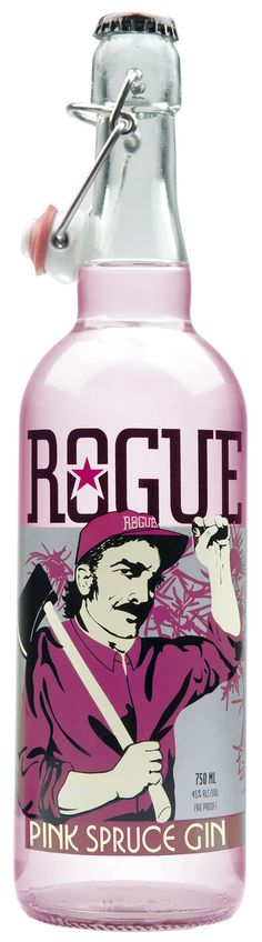 Pink Spruce Gin - Rogue Ales