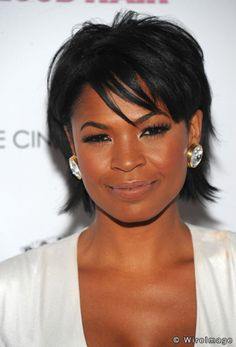 Smart Nia Long ...  De luxe Hairstyles...   Long starred alongside Michael Beach in Soul Food and in the TV series Third Watch.