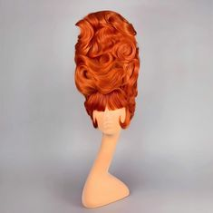 Retro Hairstyles, Wig Hairstyles, Drag Wigs, Runway Hair, Vintage Burlesque, Cosplay Hair, Hair Reference, Hair Shows, Hairspray