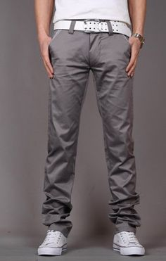 What style of pants do you like?  Slimming Cotton Pants for Men  #fashion