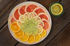 Entertaining Tip: Citrus Garnishes for Water and Other Beverages