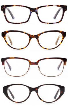 4 Gorgeous Tortoise Frames for Heart Shaped Faces | felix + iris glasses