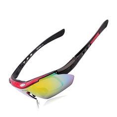 5ebfc66a58 Polarized-Cycling-fishing-Hiking- Sun-Glasses-Men-Women-Eye wear-5 Lens. Uv  SunglassesSports ...