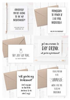 Funny bridesmaid card - Will you be my Bridesmaid cards Maid of Honour flower