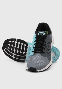 63a974f4c505 Buy Nike Air Zoom Pegasus 31 Grey Running Shoes Online - 4272583 - Jabong