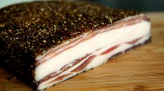 Home made PANCETTA - Sounds good doesn't it? Its very easy but there are some rules to follow. Recipe: Tip: Setup an excel sheet to have ingredientspercentag...
