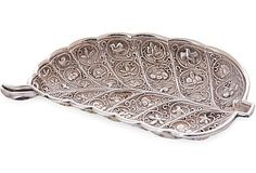 Sterling Silver Leaf Dish on OneKingsLane.com