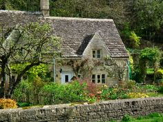 Image detail for -The loveliest cottage in the Cotswolds, in Bibury....preparing for ...