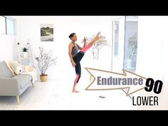 INTERVAL WORKOUT Butt and Thigh WORKOUT - BARLATES BODY BLITZ Endurance 90 Lower - YouTube
