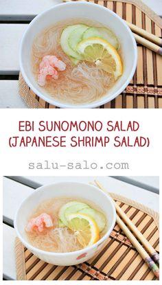 Ebi Sunomono Salad (Japanese Shrimp Salad)
