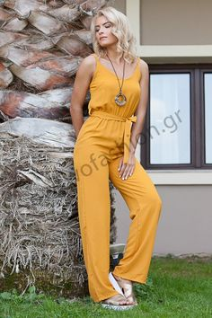 Σχετική εικόνα Jumpsuit, Dresses, Fashion, Overalls, Vestidos, Moda, La Mode, Jumpsuits, Fasion
