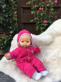 Nochmal für die Püppi {Puppenkleidung} | Bea's Kreativblog - genäht für littleJo Face, Upcycling Ideas, Faces