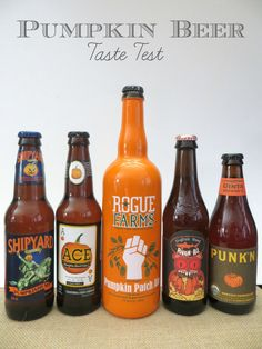 Pumpkin Beer Taste Test - Treats and Trends