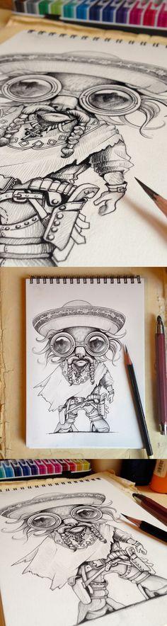 excellent sketchbook drawing #artwork #sketchbook #drawings