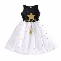 Your baby will surely shine like a star in this Gold Star Tutu Dress! ✨⭐ Available for 2-3T. Get it here 👉 https://petitelapetite.com/products/gold-star-tutu-dress