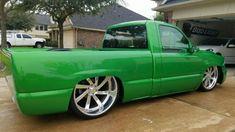 Chevy Trucks Lowered, Bagged Trucks, Classic Chevy Trucks, Gm Trucks, Cool Trucks, Chevrolet Silverado, Silverado Truck, C10 Chevy Truck, Chevy Pickups