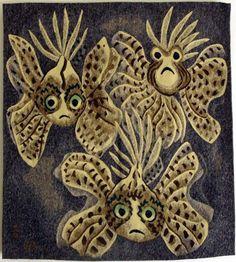 DOM ROBERT Poisson Vole (Flying Fish)