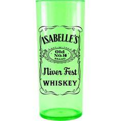 Copo Acrílico Personalizado Aniversário Jacki Daniels Verde Neon - ArtePress | Brindes, Canecas, Copos de Acrílico Personalizado
