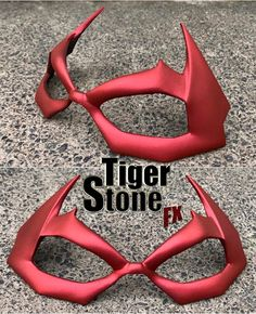 Our new Hush inspired Jason Todd mask in MATTE hot metallic red :-D Its up in the shop now along with all other small face masks of the month mask day ; Red Hood Helmet, Red Hood Cosplay, Robin Logo, Prop Maker, Mask Painting, Masked Man, Batman Logo, Jason Todd, Small Faces