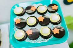 Outer Space Party, Dessert Tables, Birthday Party Themes, Cupcakes, Desserts, Food, Postres, Cupcake, Deserts