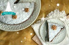 Met deze walnotentaart met 3 ingrediënten scoor je gegarandeerd deze kerst. In zijn geheel van te voren klaar te maken.