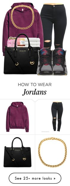 """Grown ups///Earl sweatshirt ft.Da$h"" by maiyaxbabyyy on Polyvore featuring H&M, MICHAEL Michael Kors and Retrò"