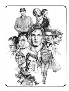 Christopher Reeve by NachoCastro