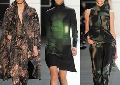 Akris -Paris Fashion Week – Autumn/Winter 2014/2015 – Print Highlights – Part 2 catwalks