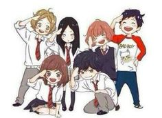 ImageFind images and videos about anime, ao haru ride and kou on We Heart It - the app to get lost in what you love. Anime Chibi, Kawaii Anime, Manga Anime, Fairy Tail, Futaba Y Kou, Ao Haru Ride Kou, Tanaka Kou, Blue Springs Ride, Kimi Ni Todoke